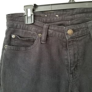 Ralph Lauren Jeans - Ralph Lauren Milan Black Skinny Mid Rise Jeans